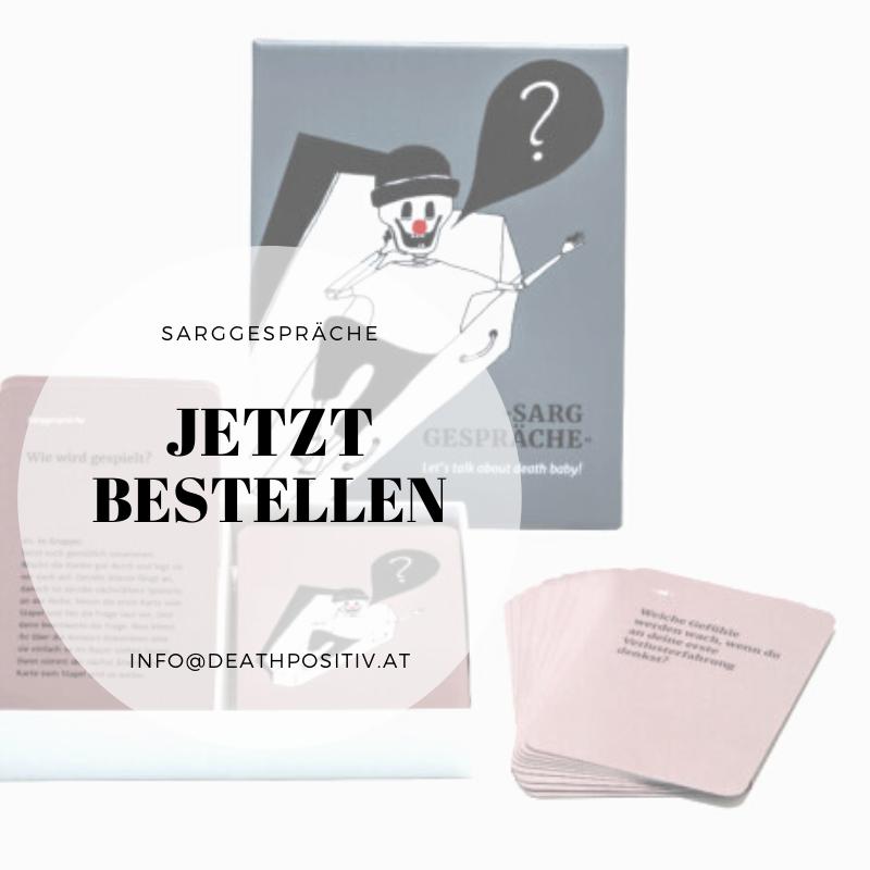 Sarggespräche | Verena Brunnbauer | Death Positiv